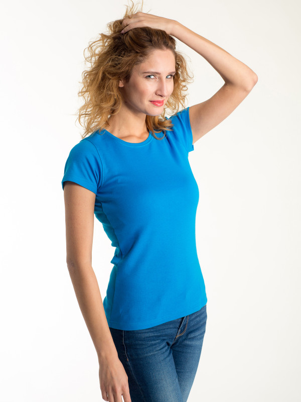 LADIES T-SHIRT SHORT SLEEVE EF104