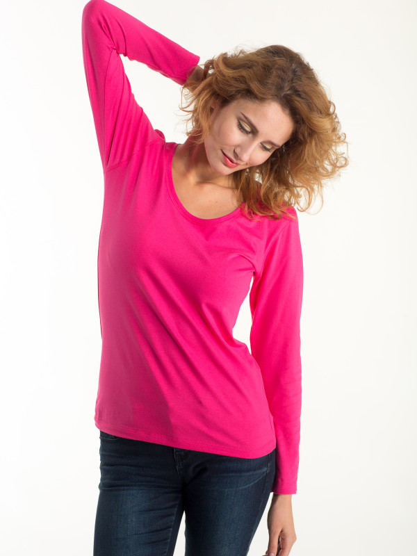 LADIES FITTED T-SHIRT LONG SLEEVE EF202
