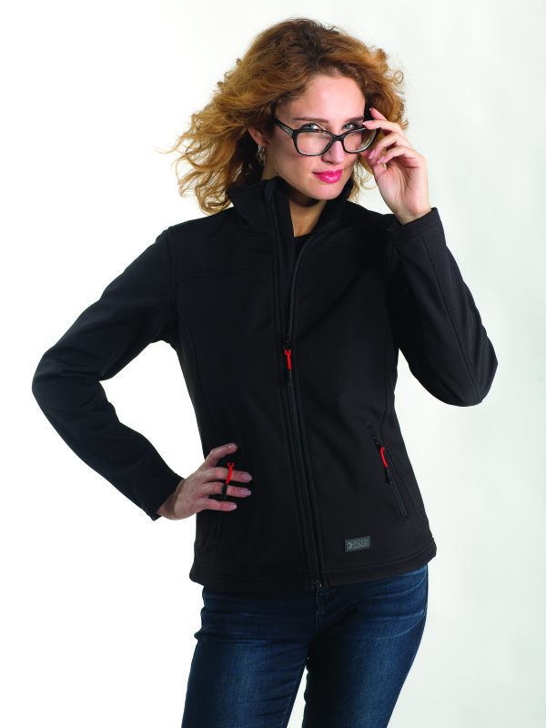 LADIES SOFT SHELL JACKET EF601