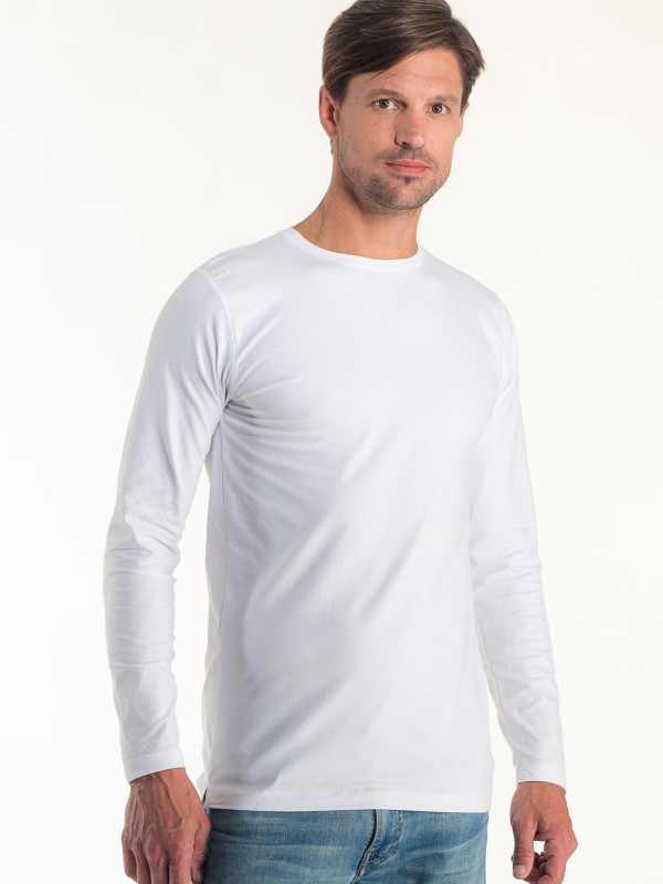 MEN FITTED T-SHIRT LONG SLEEVE EM202